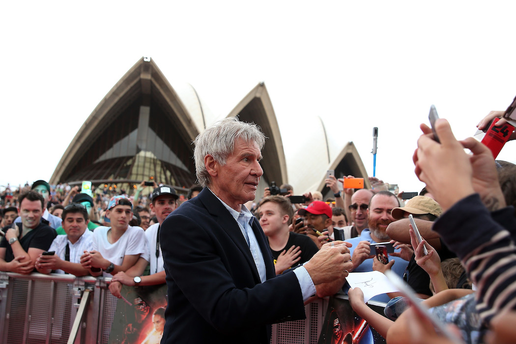 Harrison Ford 'Star Wars' Sydney H 2015