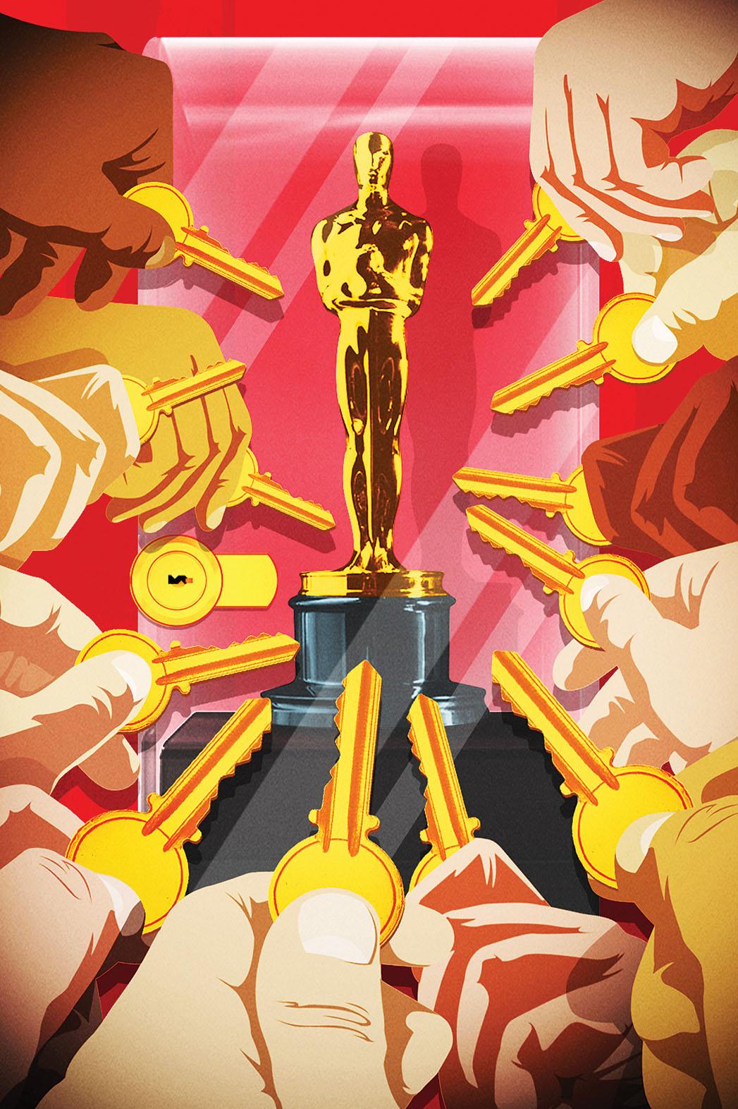 Hollywood Oscar Keys - P 2015
