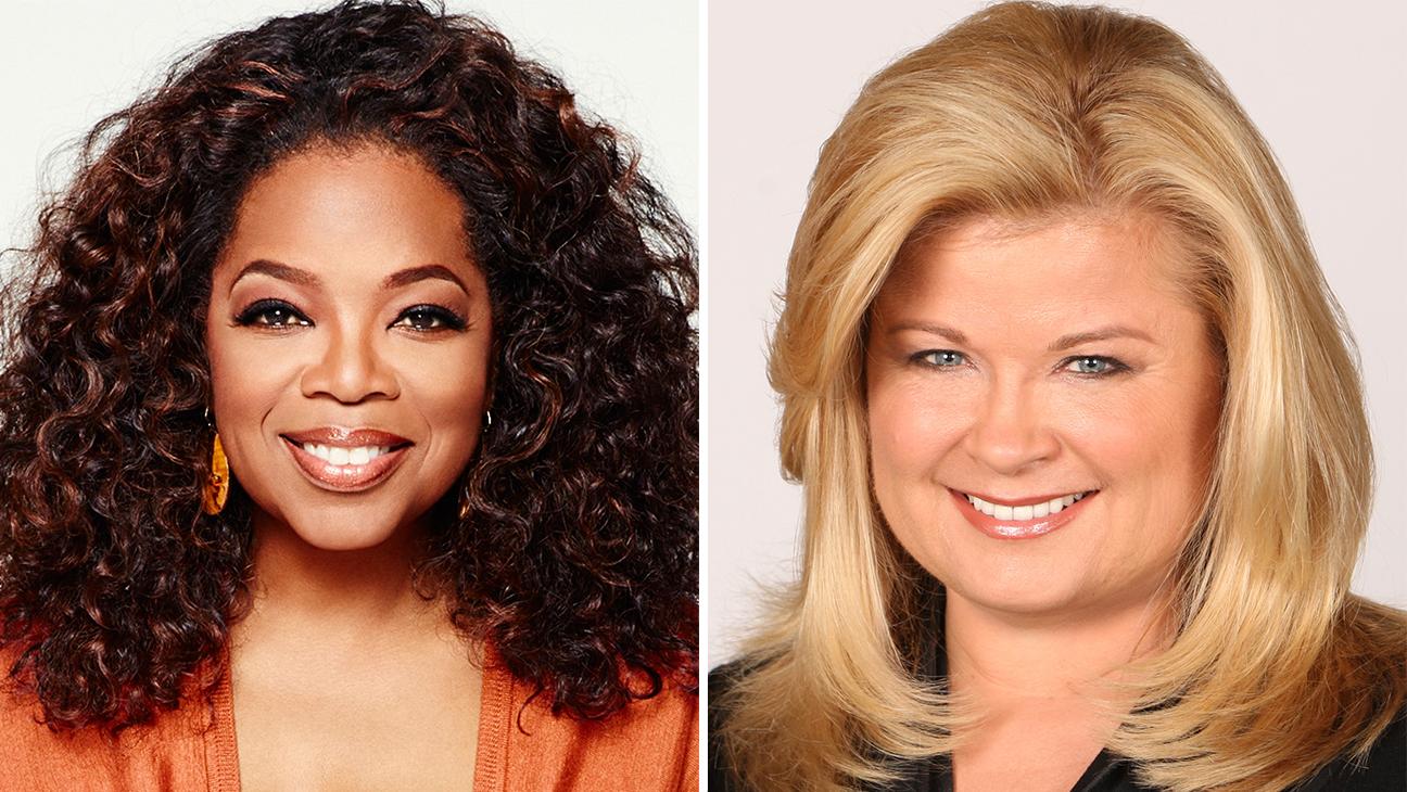 Oprah Winfrey and Sheri Salata - H 2015