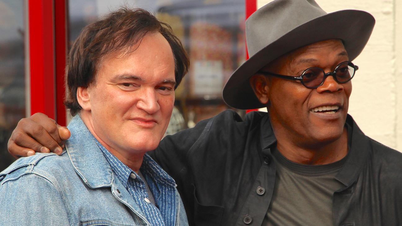 Quentin Tarantino and Samuel L Jackson - H 2015