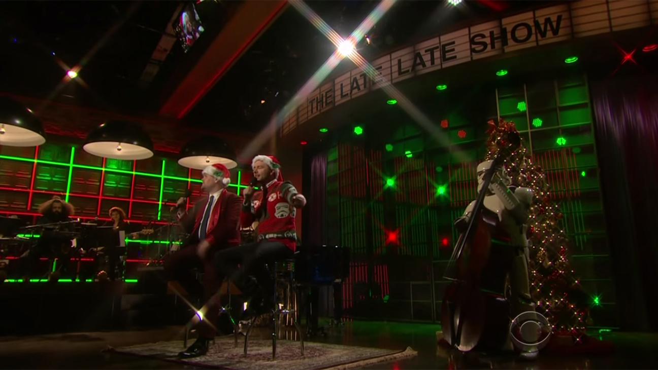 James Corden Chris Hardwick Late Late Show H 2015