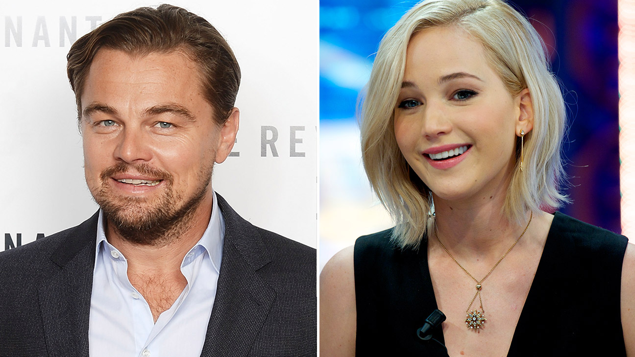 Leo Dicaprio and Jennifer Lawrence - H 2015