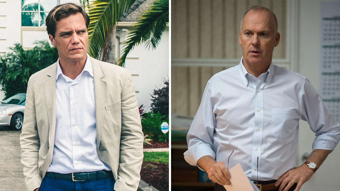 Michael Shannon in 99 Homes and Michael Keaton in Spotlight - H 2015