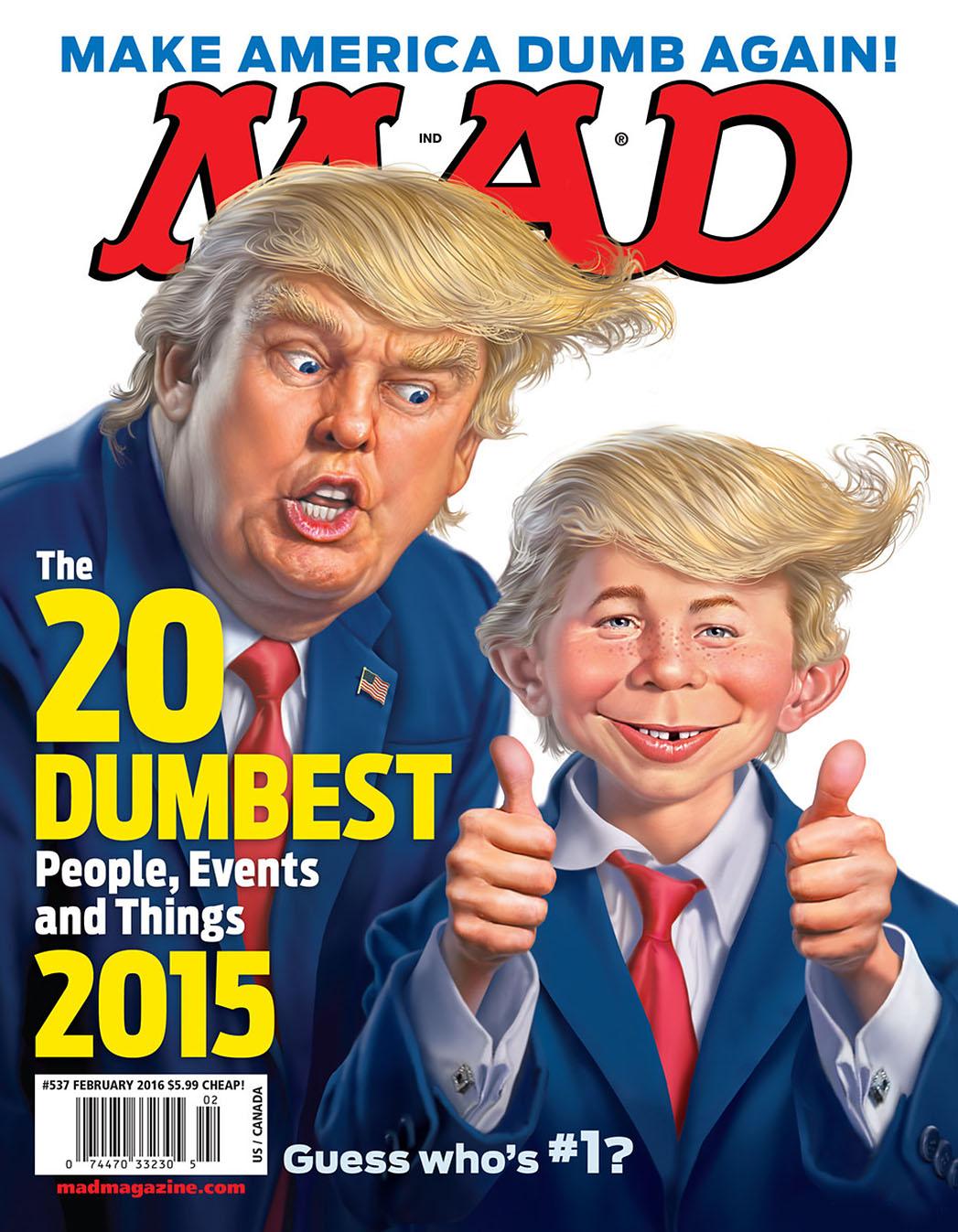 Mad Magazine - Donald Trump - P 2015