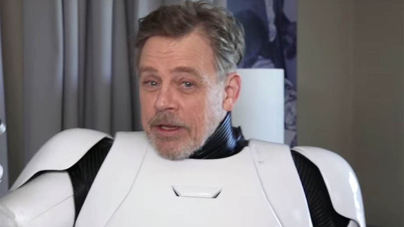 Mark Hamill Goes Undercover as a Stormtrooper on Hollywood Blvd - H 2015