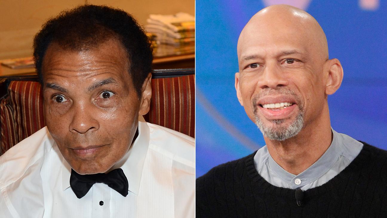Muhammad Ali and Kareem Abdul-Jabbar - H 2015
