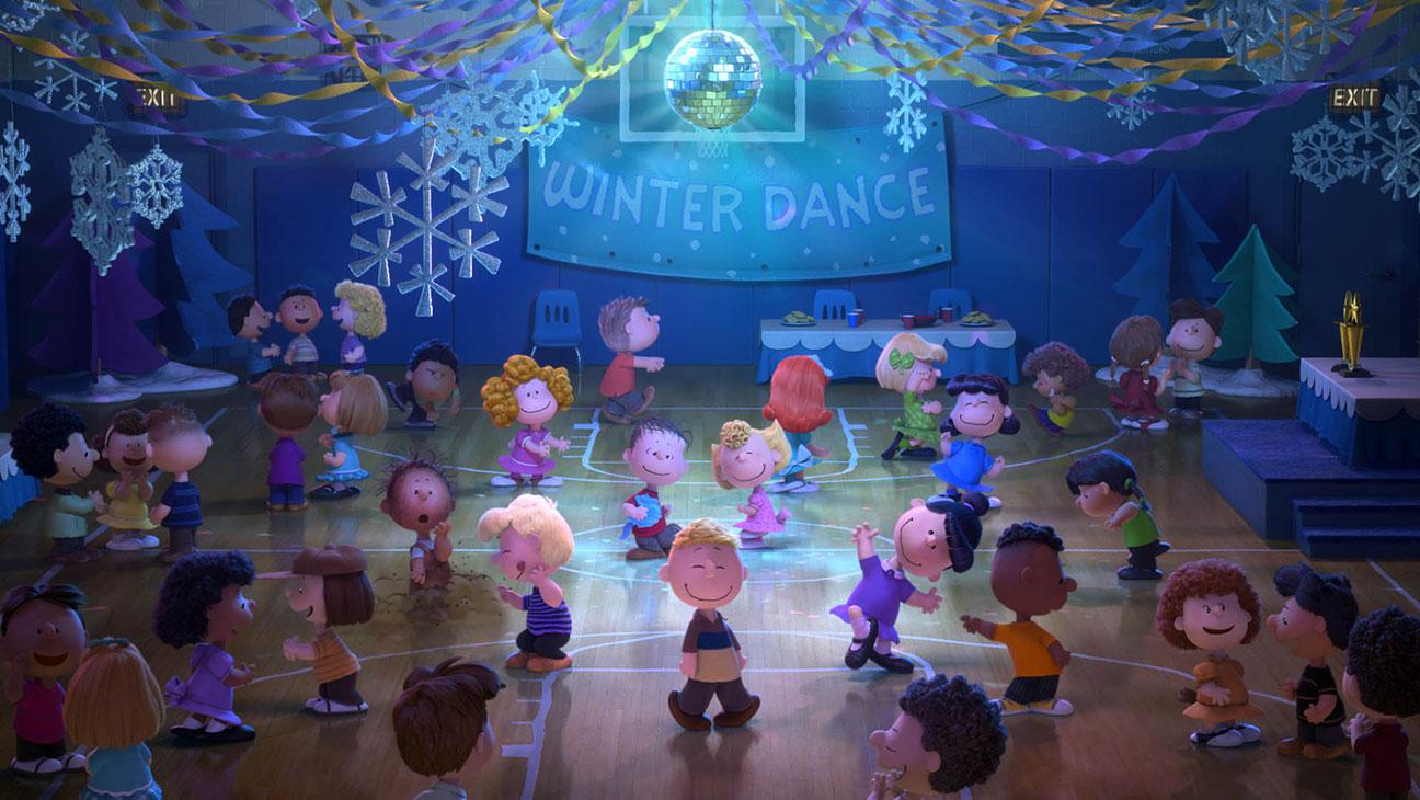 Peanuts Movie Dance Scene Still - H 2015