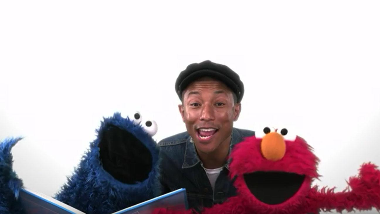Pharrell Sesame Street - H