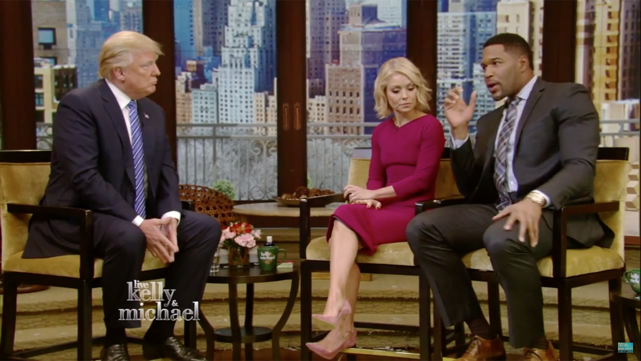 Donald Trump on LIVE with Kelly and Mcihael - H 2015