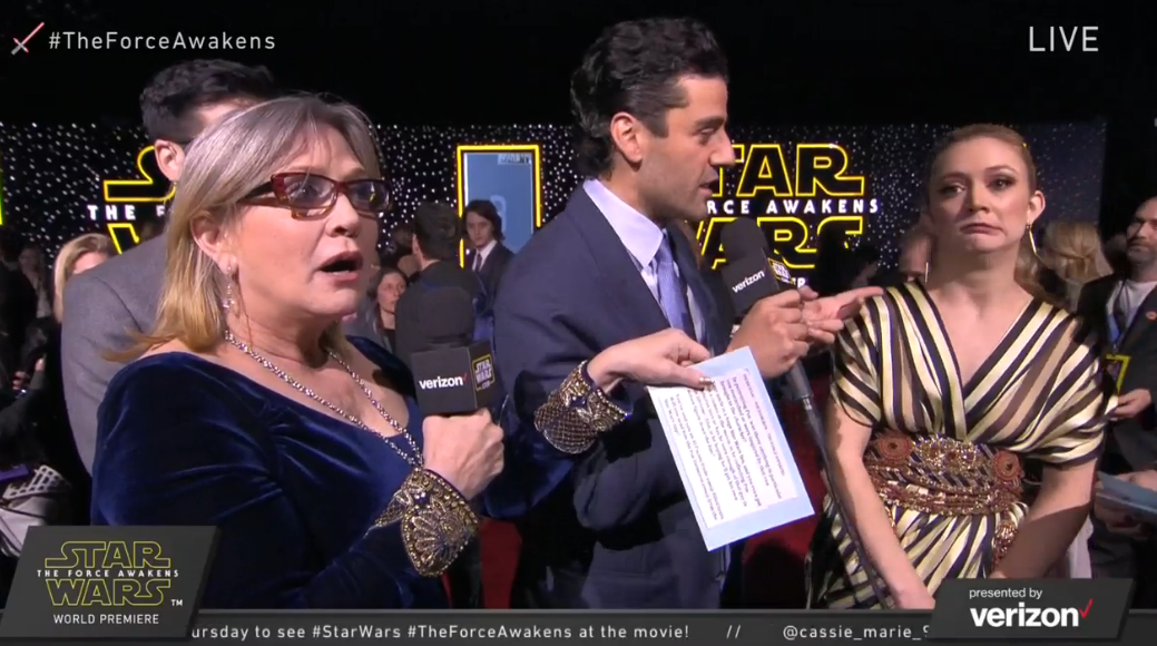 Carrie Fisher - H 2015