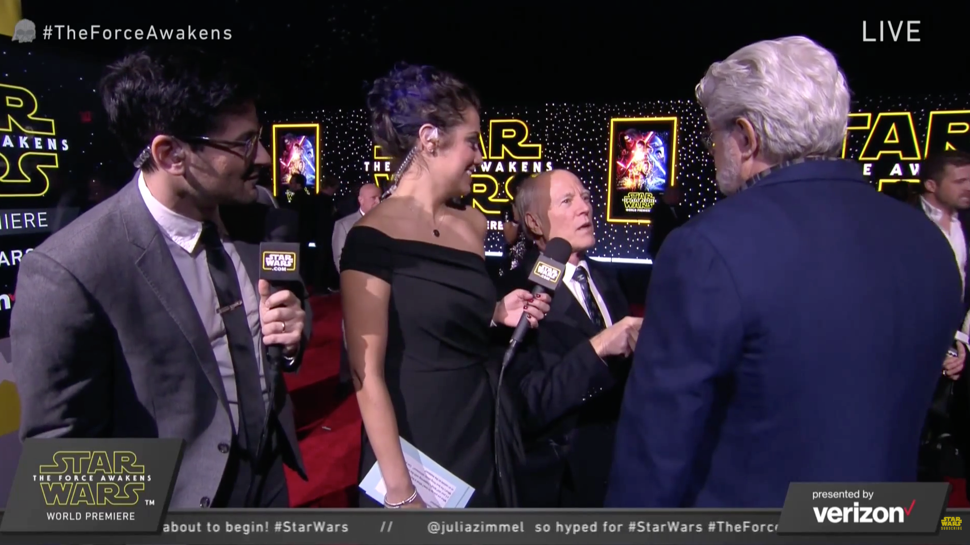Frank Marshall and George Lucas - H 2015