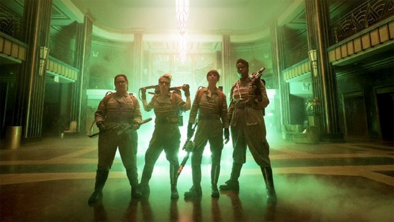 First Official Ghostbusters Still 2 - H 2015