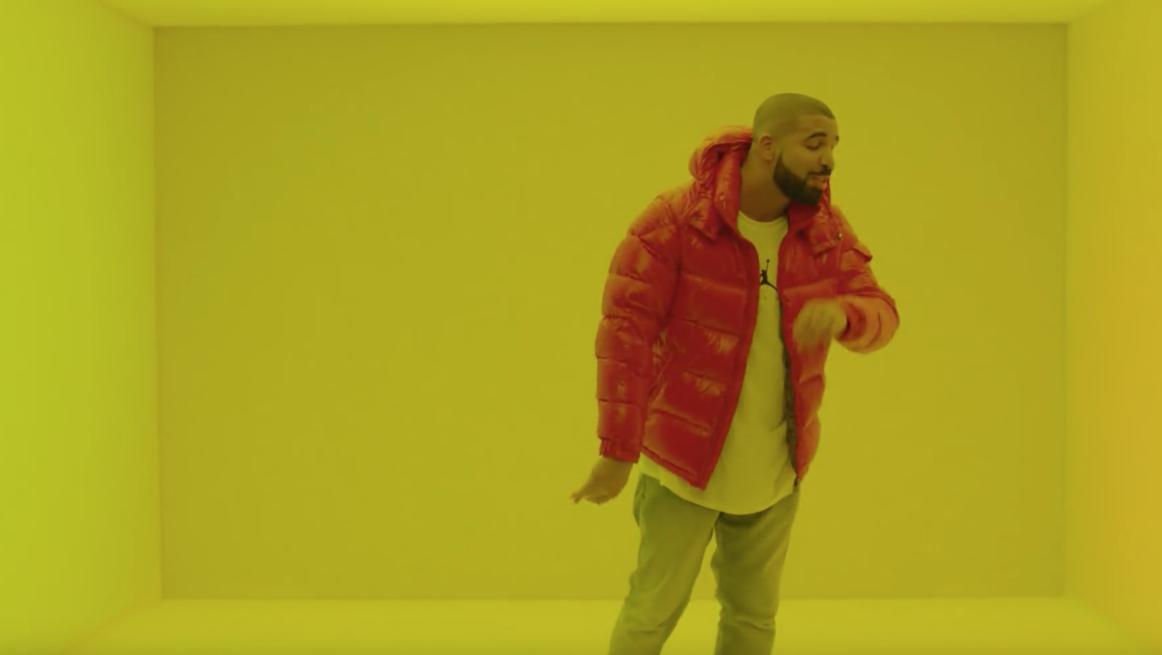 Drake's Hotline Bling Video Screenshot   - H 2015