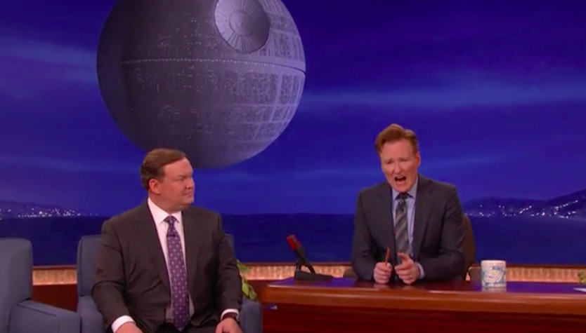 'Conan' Star Wars Backdrop H 2015