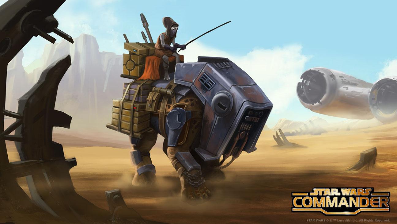 Star Wars Commander Takodana - H 2015