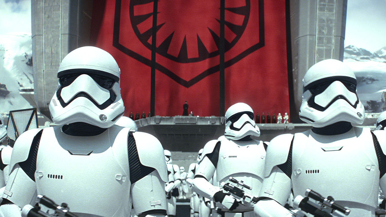Star Wars: The Force Awakens Still 12 Stormtroopers - H 2015