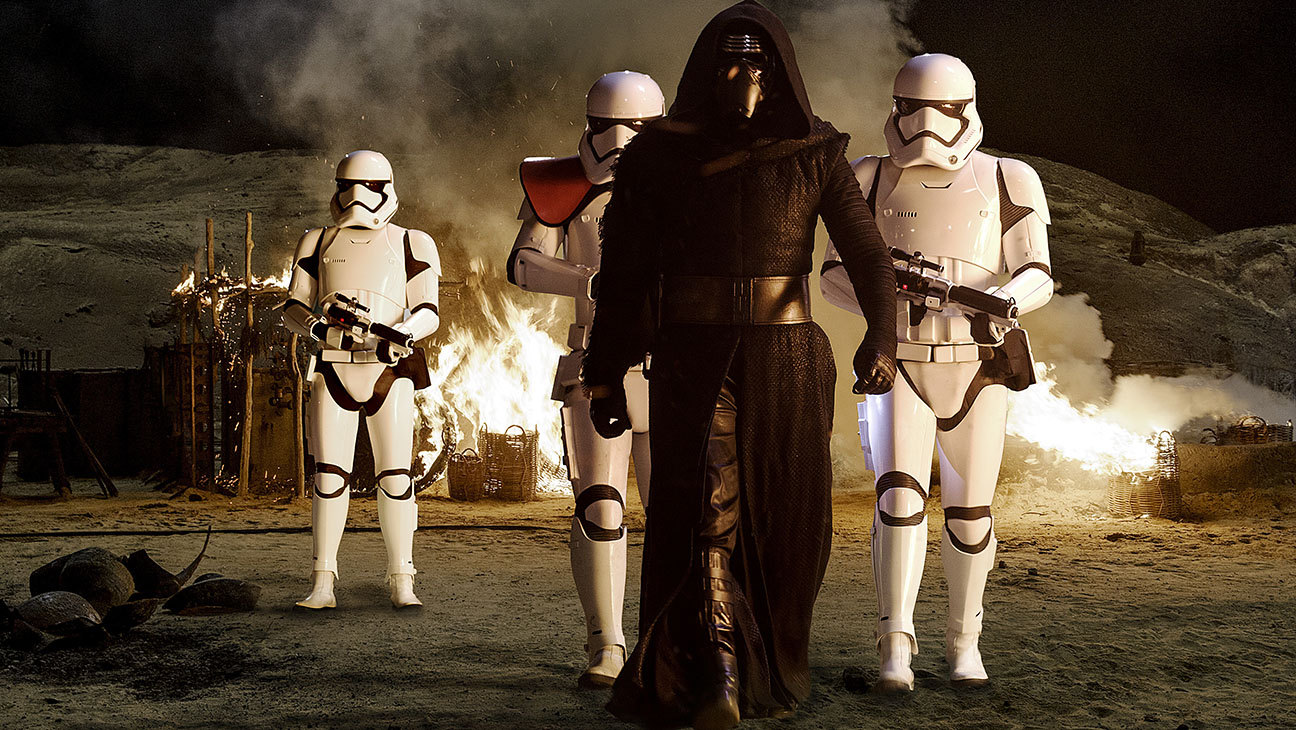 Star Wars: The Force Awakens Still 18 Kylo Ren - H 2015