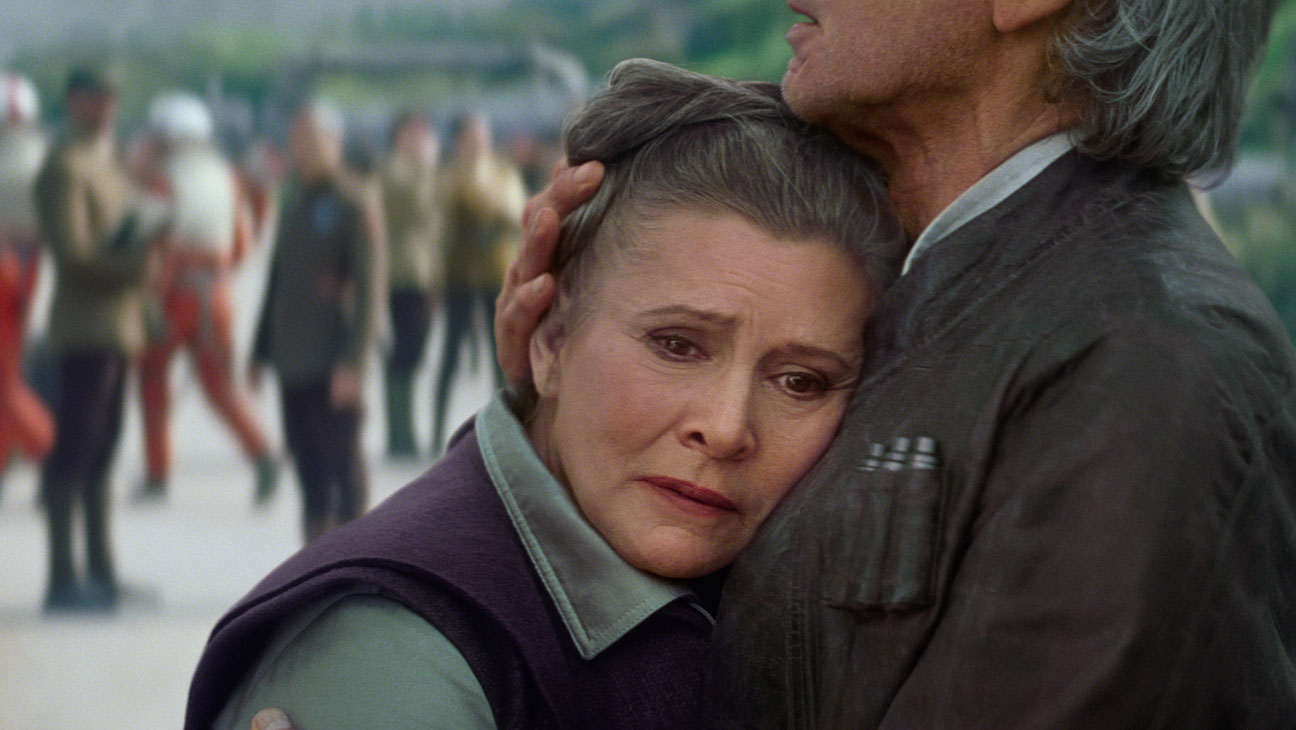 Star Wars: The Force Awakens Still 15 Carrie Fisher - H 2015