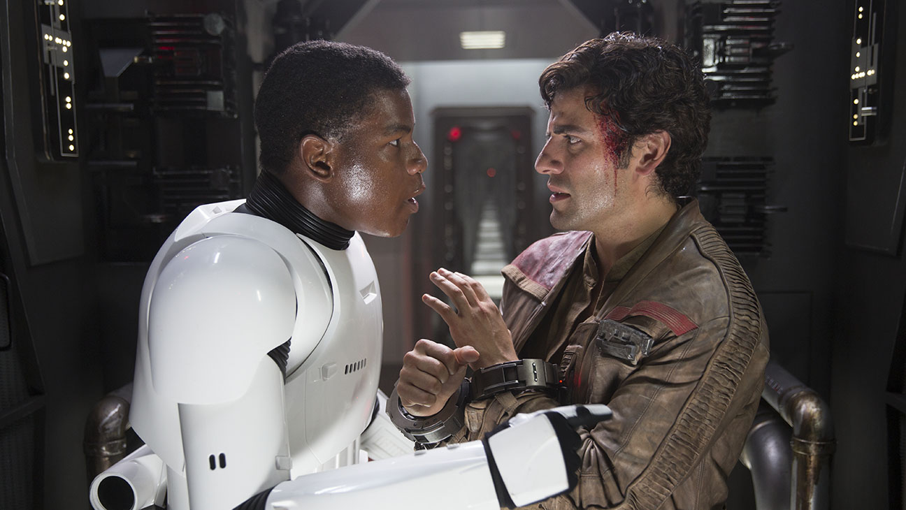 Star Wars: The Force Awakens Still 16 John Boyega  - H 2015