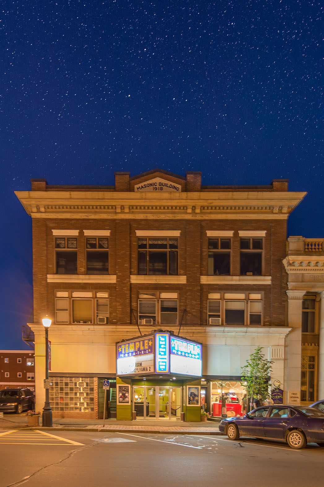 Temple Theater Exterior - P 2015
