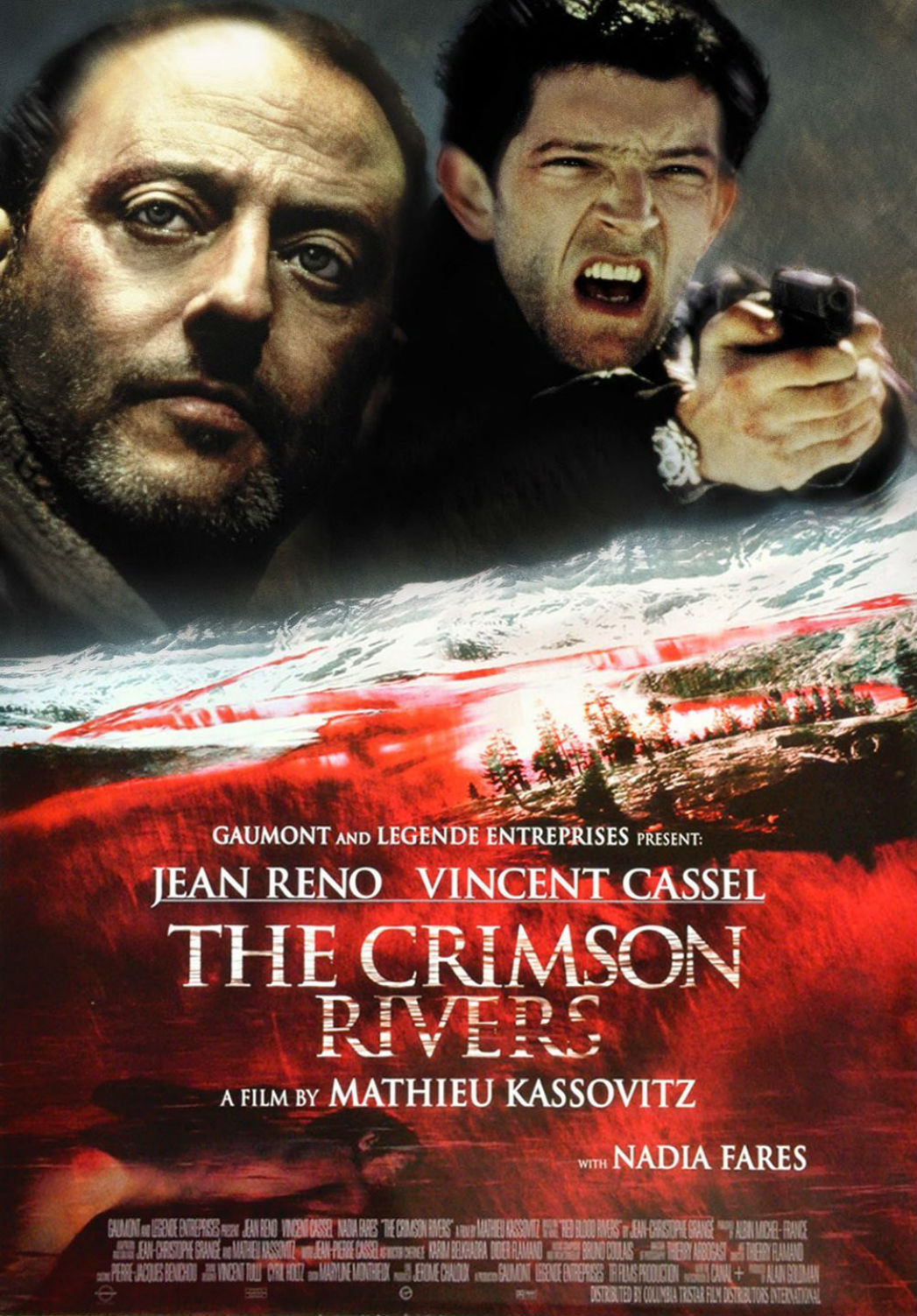 Crimson Rivers Film Poster