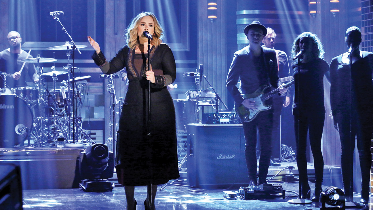 The Tonight Show with Jimmy Fallon Adele Performs Still - H 2015