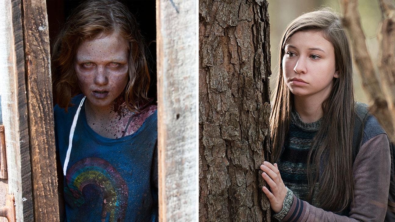 The Walking Dead Zombie Girl Split - H 2015