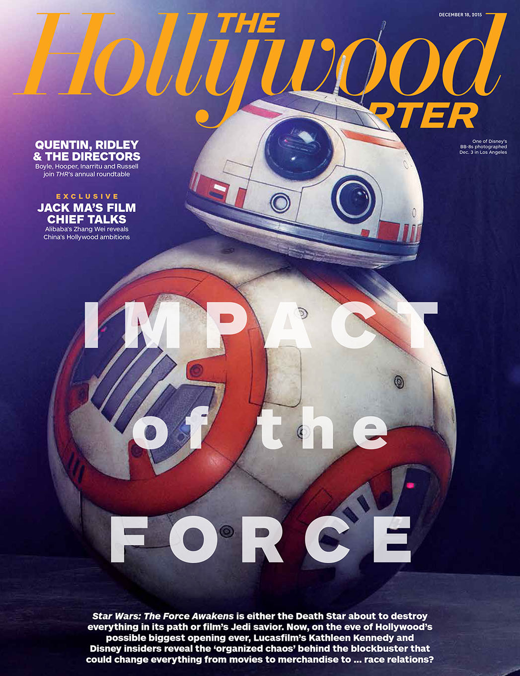 THR Issue 42 Star Wars Cover - P 2015