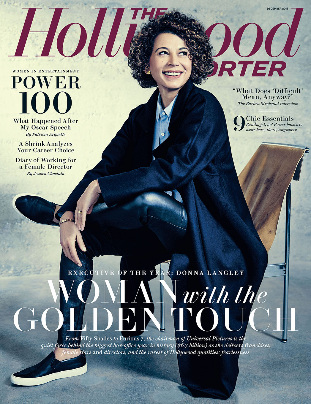 THR Issue 42A Women in Entertainment Cover - P 2015