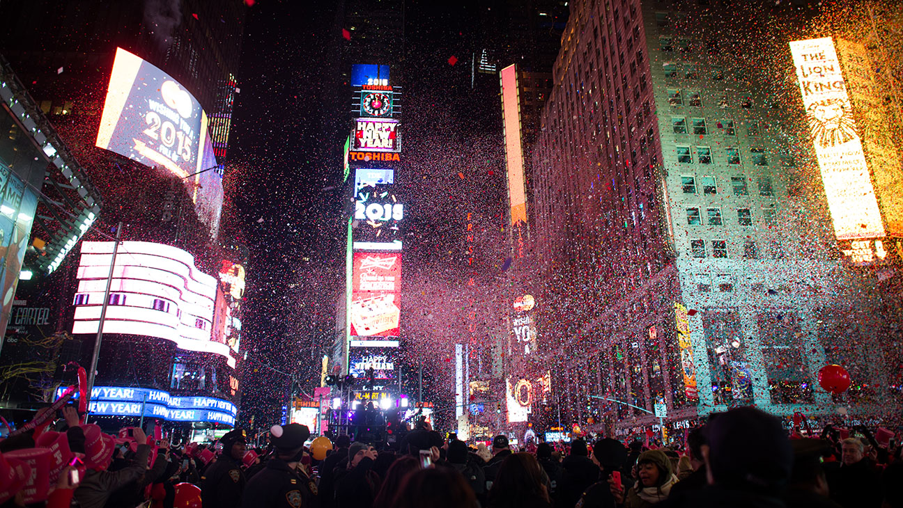 Times Square 2014 - H 2015