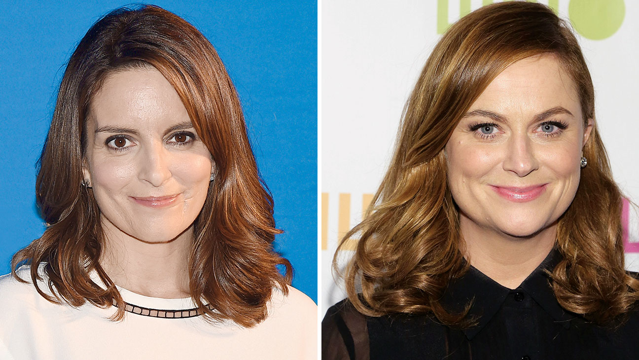 Tina Fey and Amy Poehler - H 2015