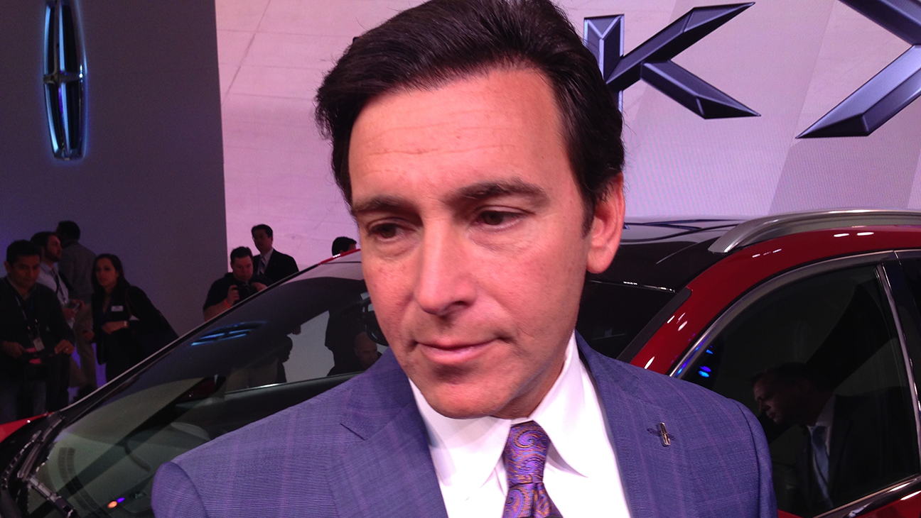 Ford CEO Mark Fields  - H 2015