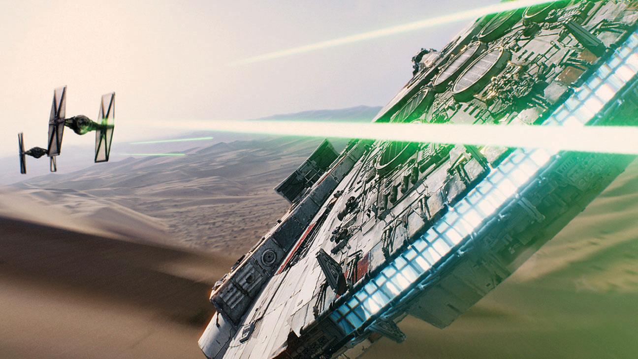 Star Wars: The Force Awaken  VFX films- H 2015