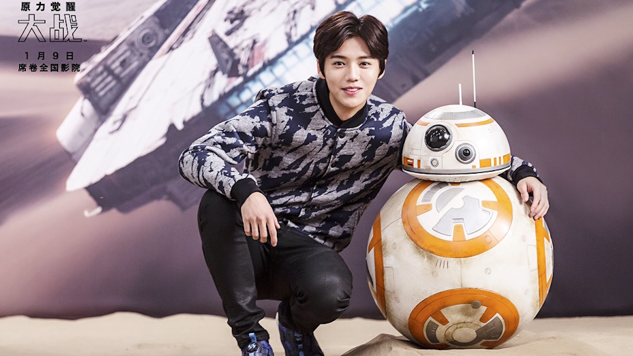 Meet Lu Han Official Ambassador For Star Wars The Force Awakens In China Hollywood Reporter