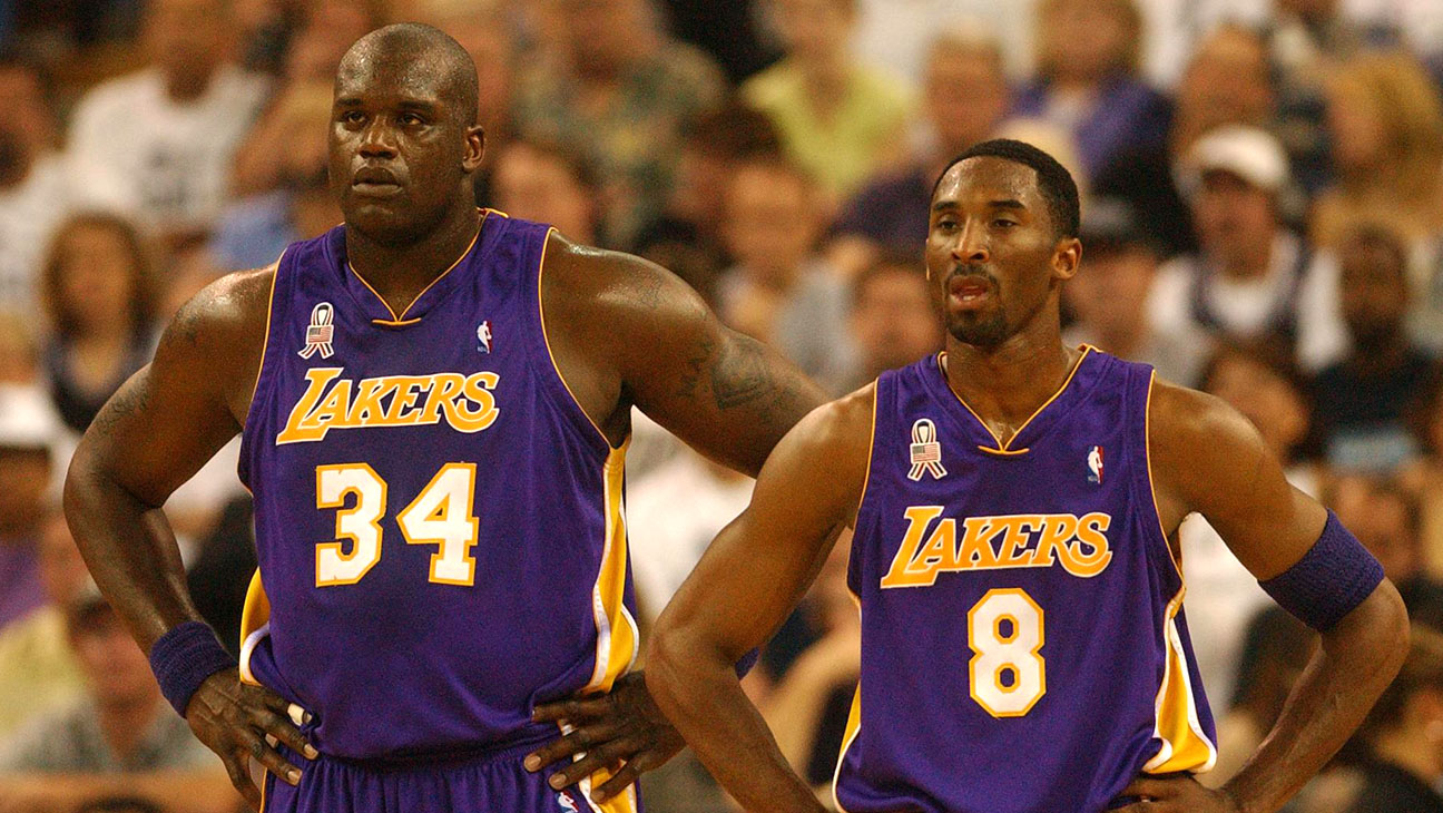 Shaquille O'Neal and Kobe Bryant NBA Western Conference Finals 2002 - H 2015