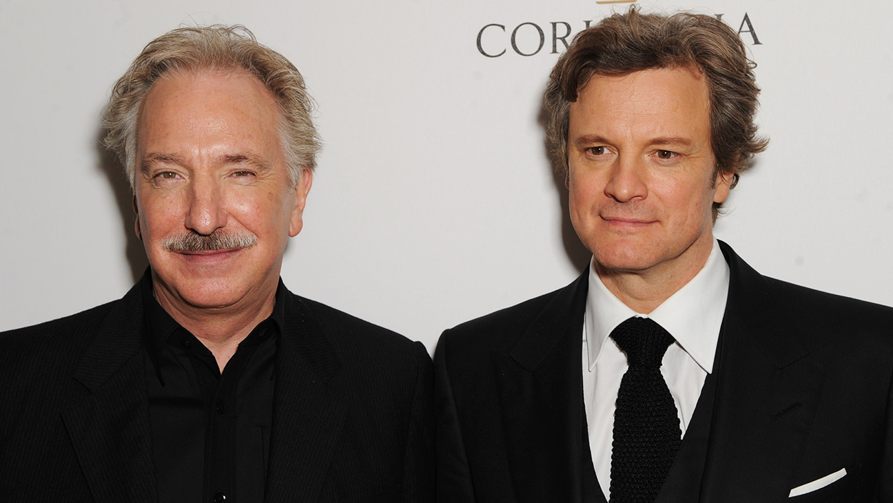 Colin Firth and Alan Rickman - H 2016
