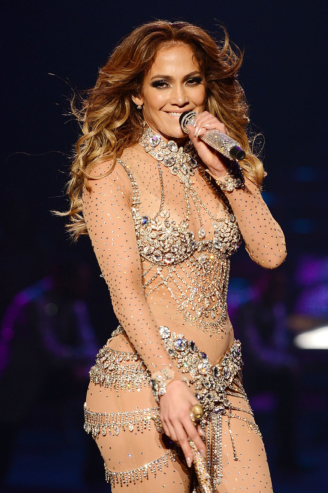 Jennifer Lopez  performs at show JENNIFER LOPEZ: ALL I HAVE  - P 2016