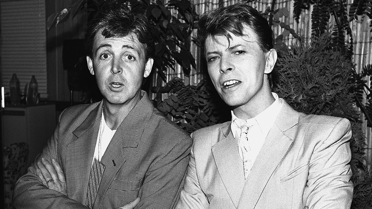 Paul McCartney and David Bowie - H 2016