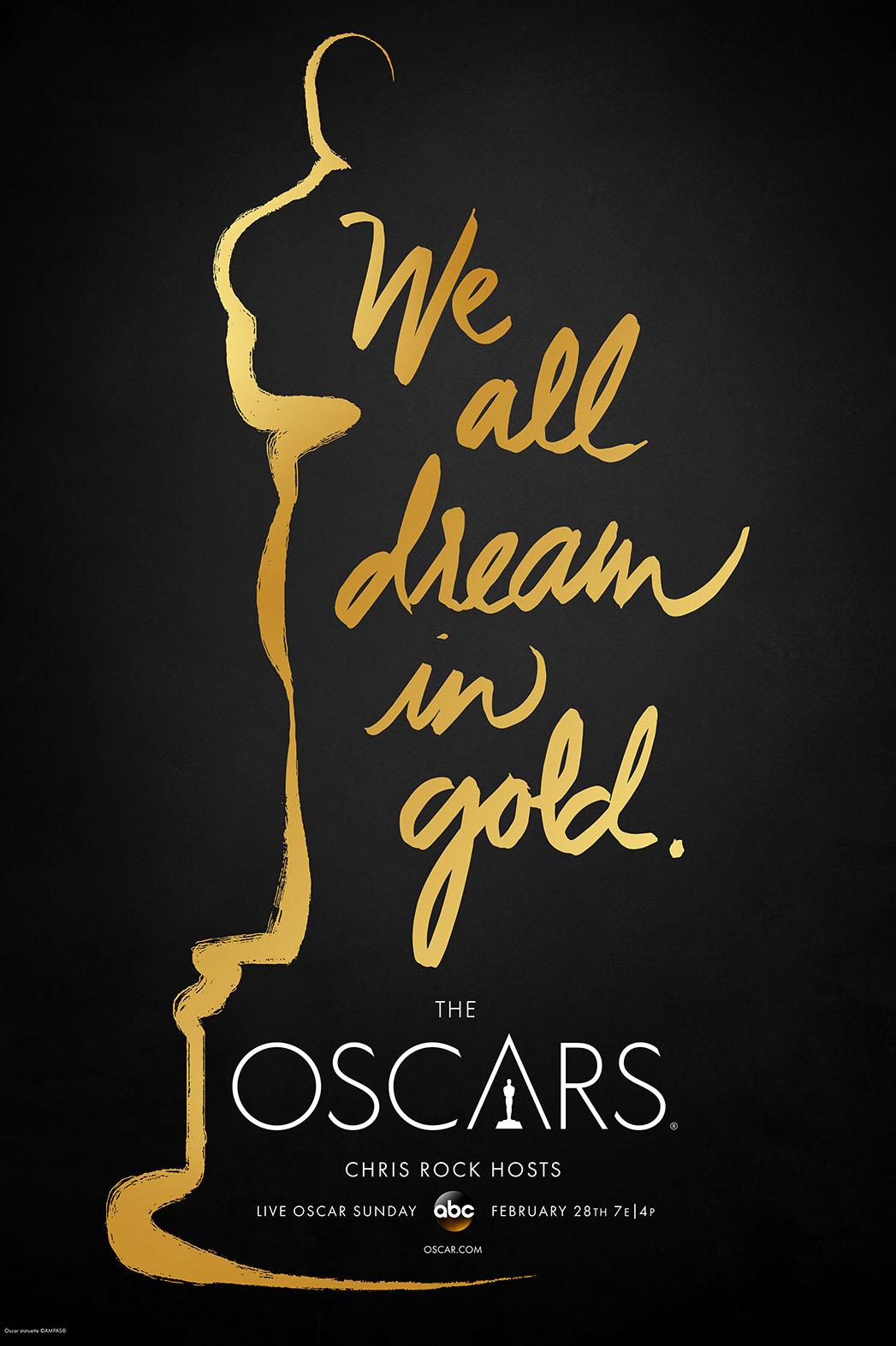 88th Oscars Key Statuette Poster  - P 2016