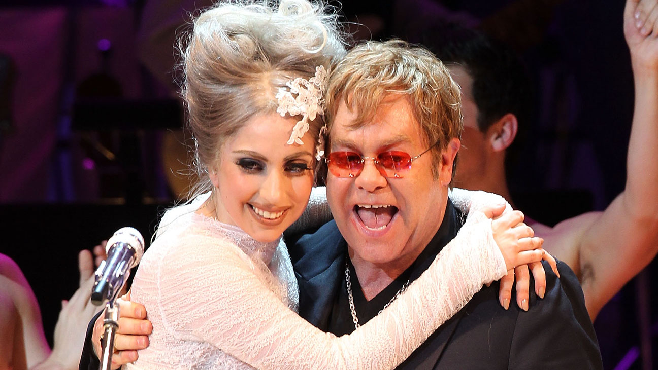 Elton John and Lady Gaga Almay concert to celebrate the Rainforest Fund's 21st birthday - H 2016