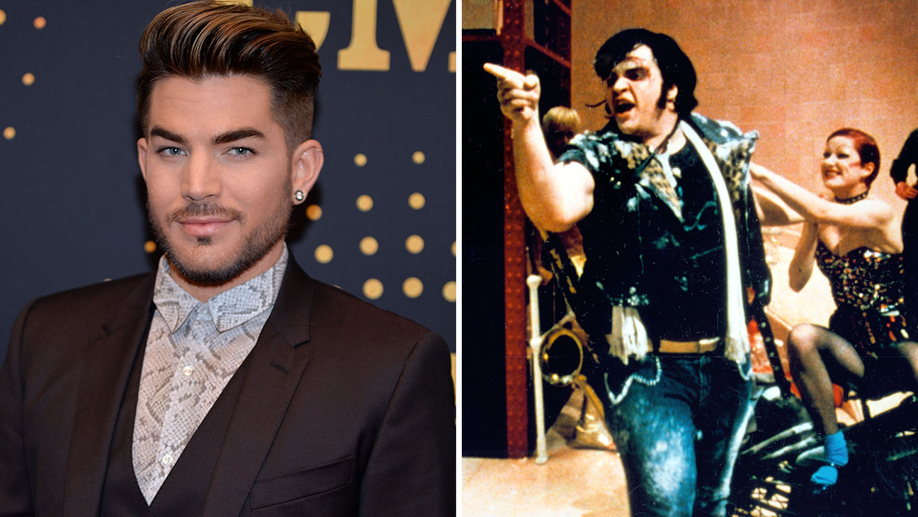 Adam Lambert and Meat Loaf from the Rocky Horror Picture Show -H Split New
