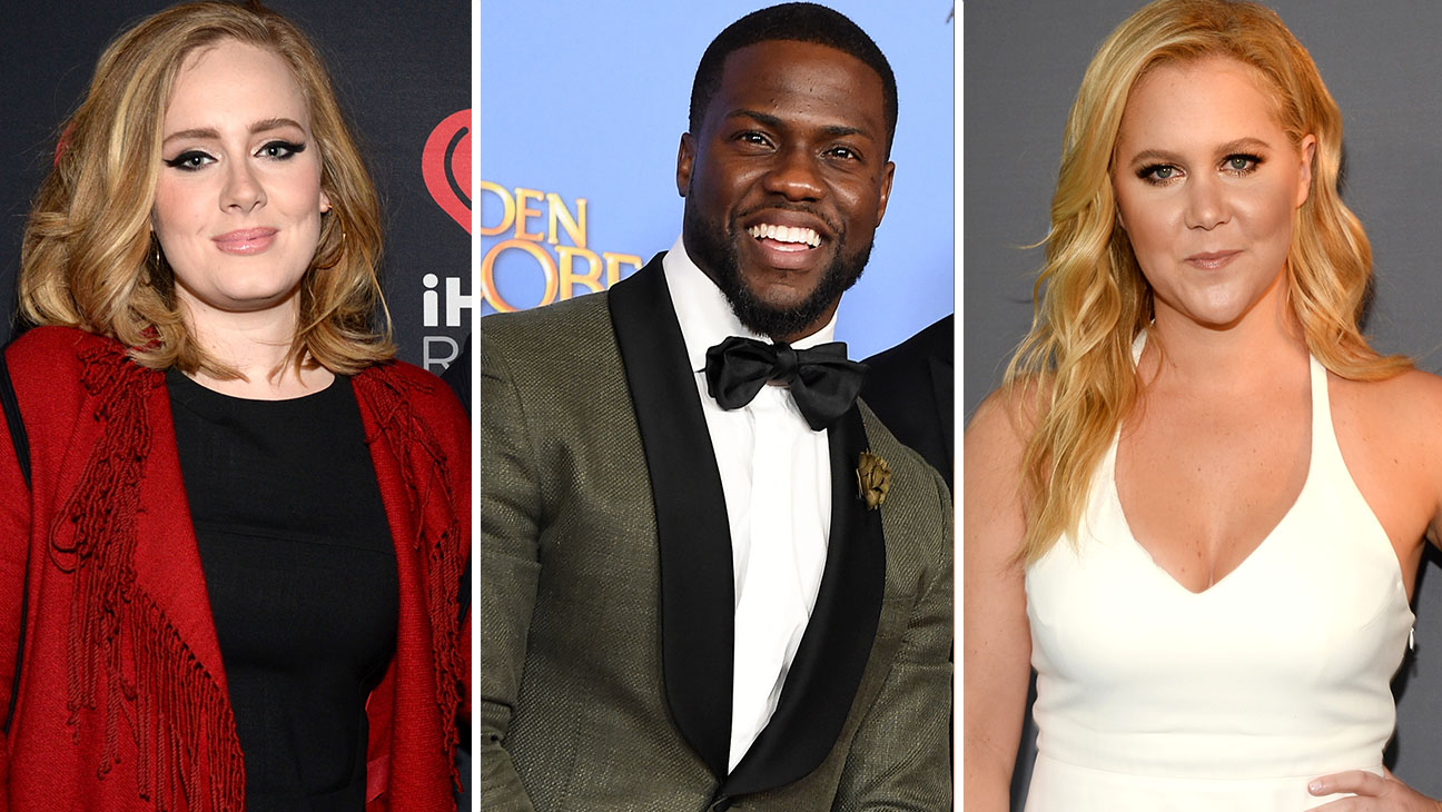 Adele, Kevin Hart and Amy Schumer Split - H 2016