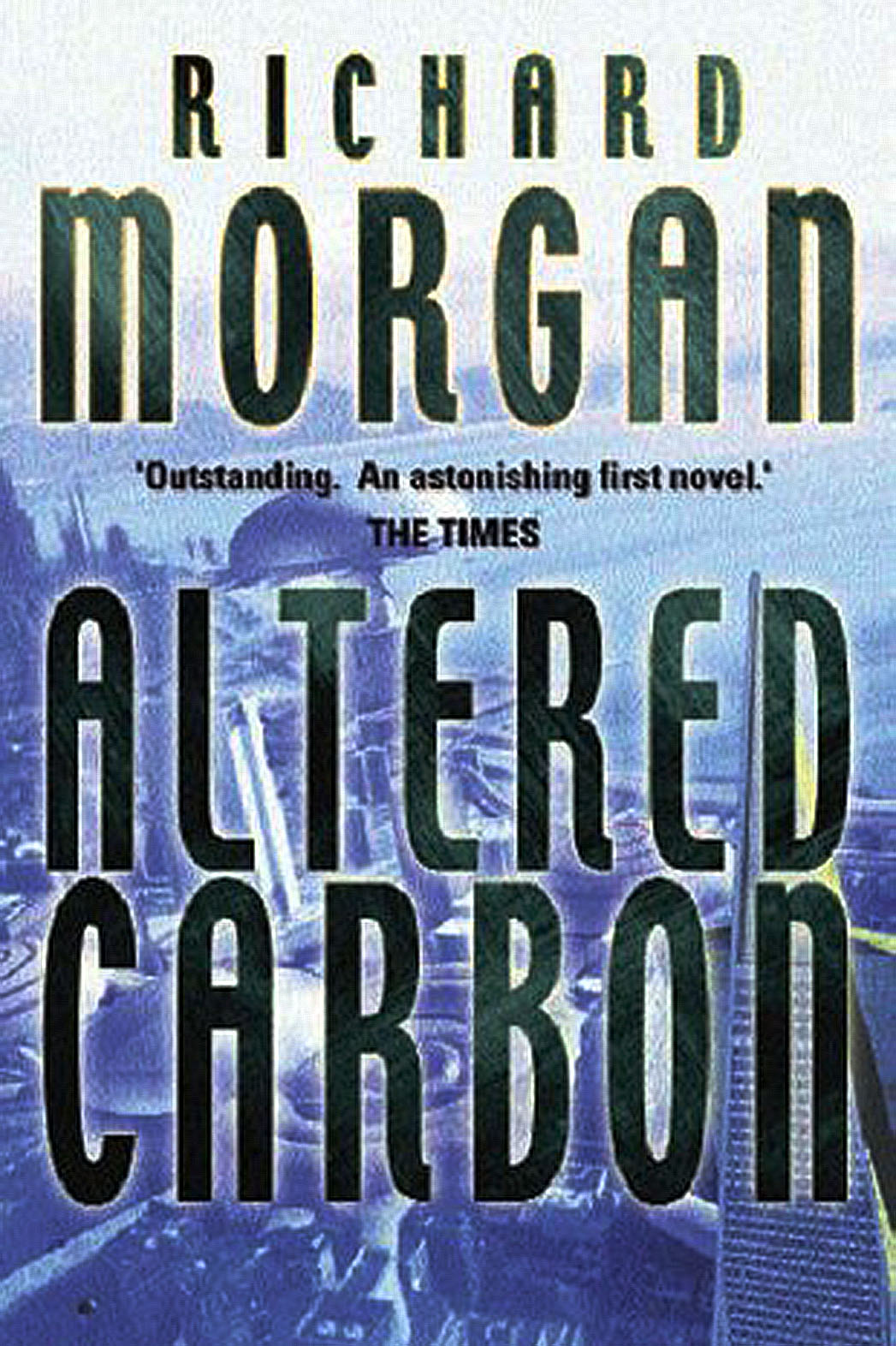 Richard Morgan's Altered Carbon  Book Cover - P 2016