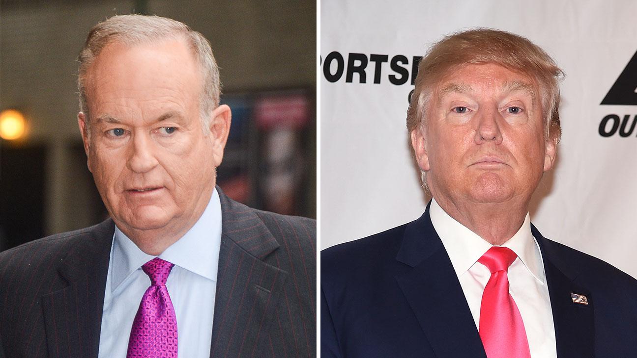 Bill O'Reilly Trump Split - H 2016