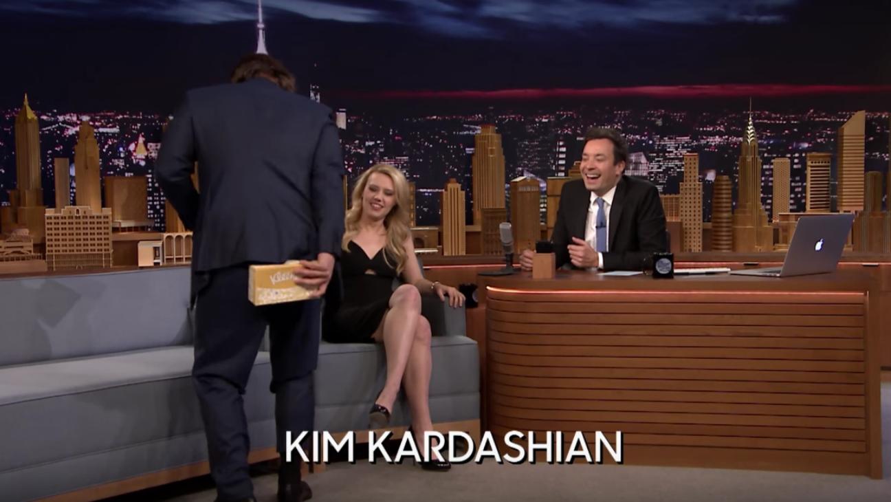 Josh Brolin as Kim Kardashian — H 2016