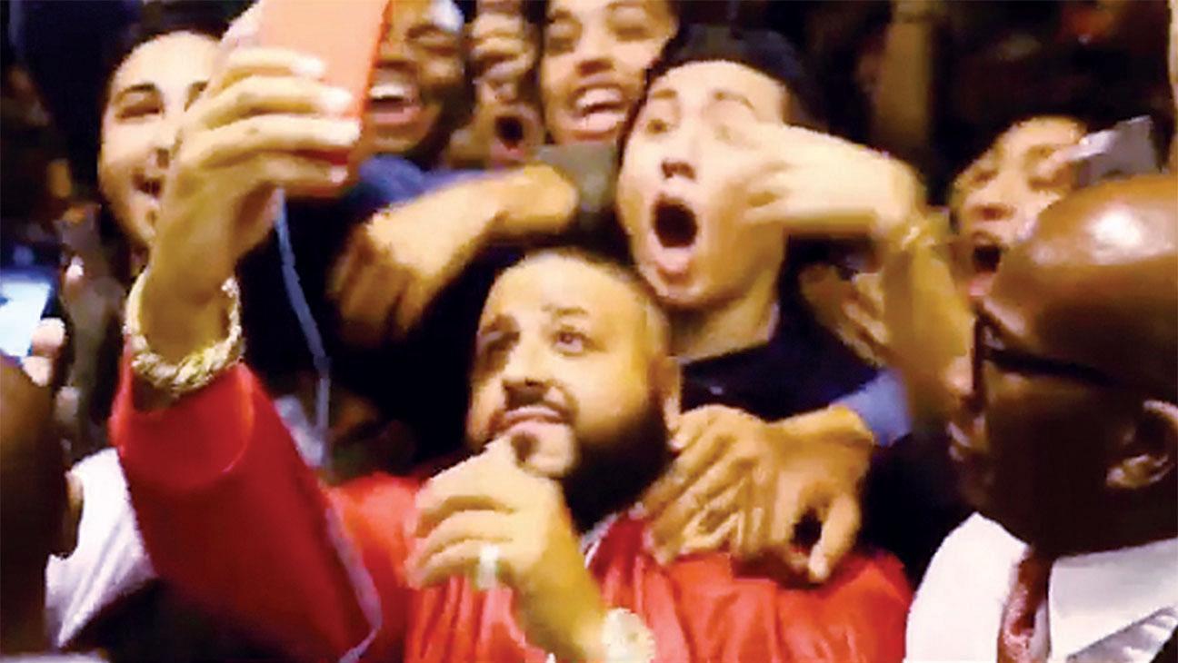 DJ Khaled Snapchat Invitation Causes Beverly Hills Mob Scene Screen Shot- H 2016