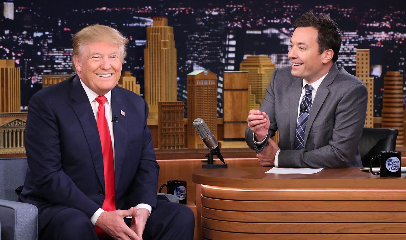 Donald Trump Jimmy Fallon H 2015