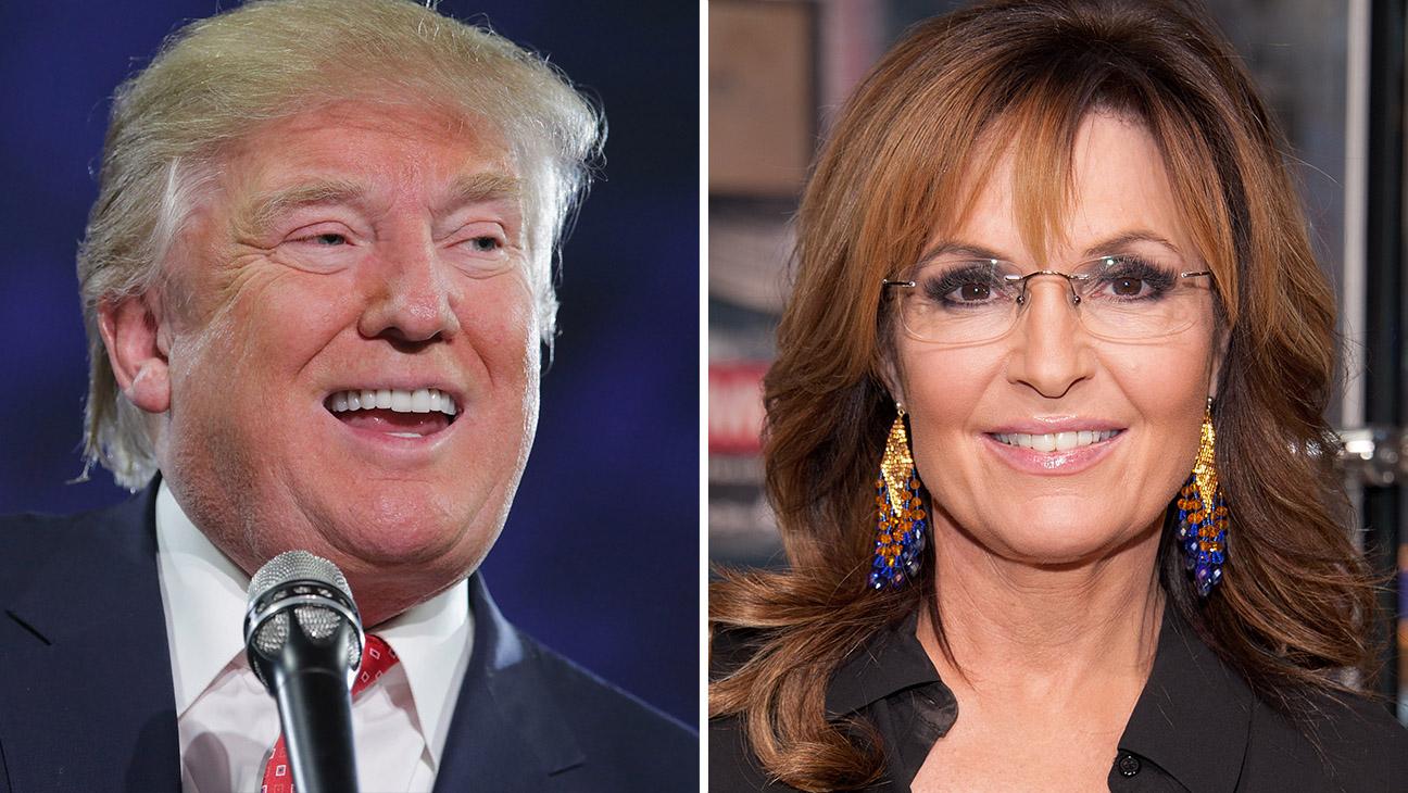 Donald Trump Sarah Palin Split - H 2016