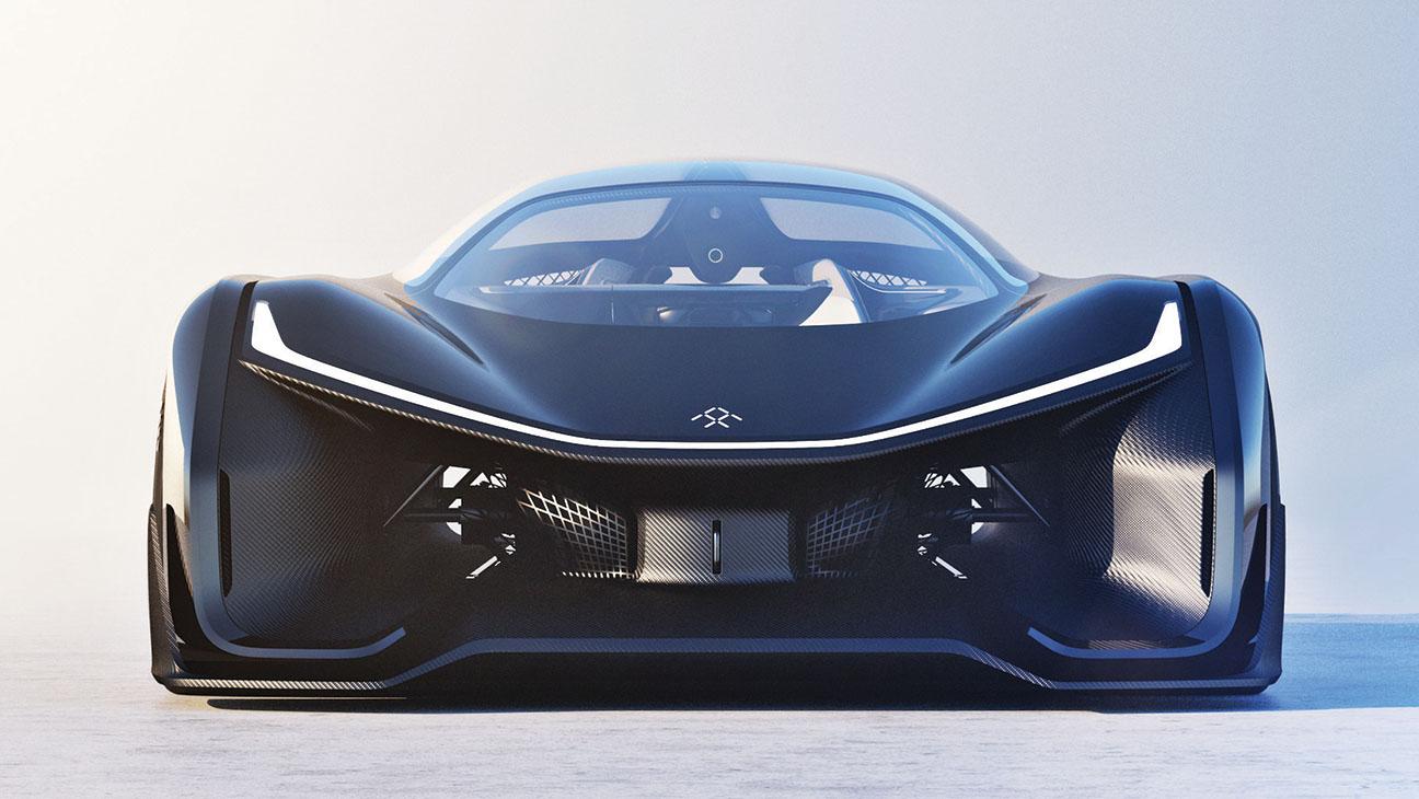 Faraday Future Batmobile - H 2016