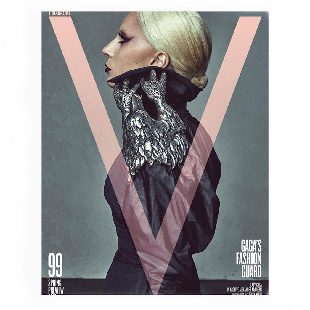 V magazine Special Covers - Gaga Screen Shot- SQ 2016